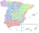 MAPA DE ESPAÑA-